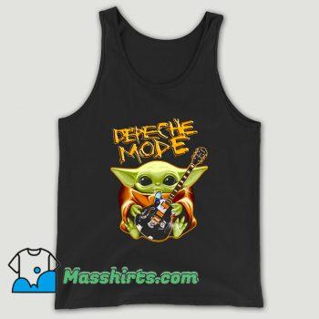 Baby Yoda Hug Depeche Mode Guitar Unisex Tank Top