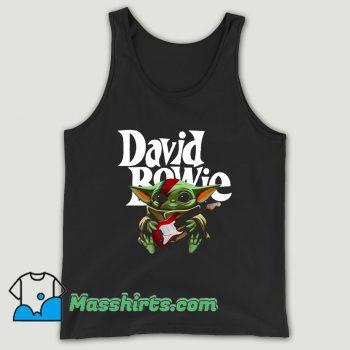 Baby Yoda Hug Guitar David Bowie Unisex Tank Top