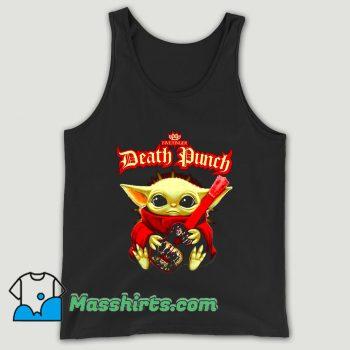 Baby Yoda Hug Guitar Five Finger Death Punch Unisex Tank Top