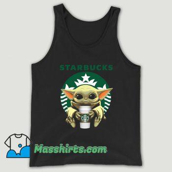 Baby Yoda Hug Starbucks Unisex Tank Top