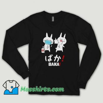 Baka Rabbit Slap Mask Covid 19 Long Sleeve Shirt