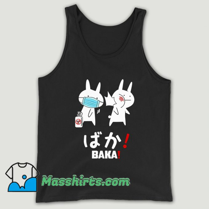 Baka Rabbit Slap Mask Covid 19 Unisex Tank Top