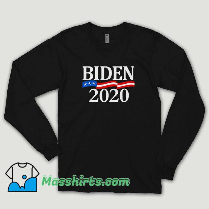 Biden 2020 Presidential Long Sleeve Shirt