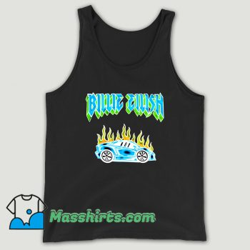 Billie Eilish Car Flames Tour Unisex Tank Top