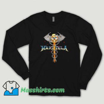 Bleach Goods Dr Metal Black Margiela Long Sleeve Shirt