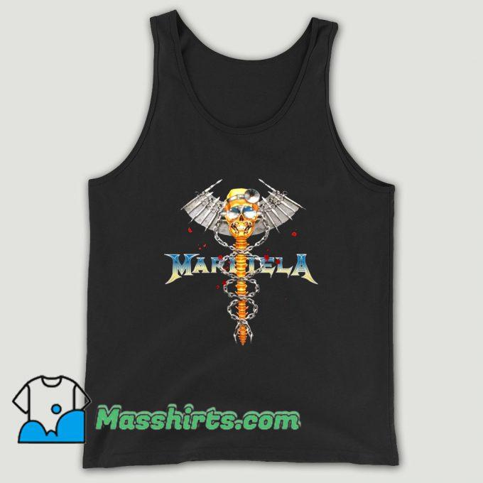 Bleach Goods Dr Metal Black Margiela Unisex Tank Top