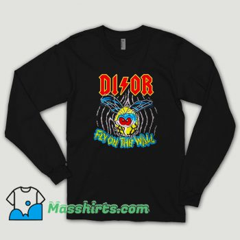 Bleached Goods Wall Fly Dior Long Sleeve Shirt