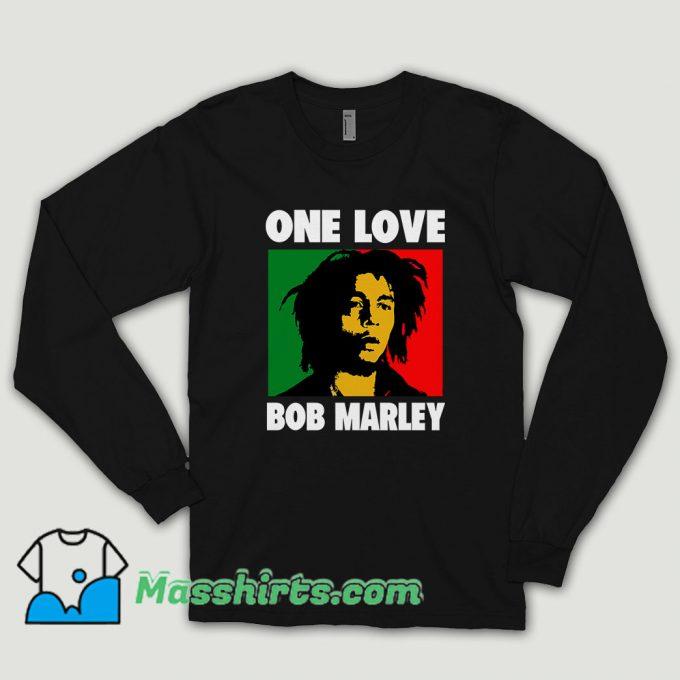 Bob Marley Song Long Sleeve Shirt