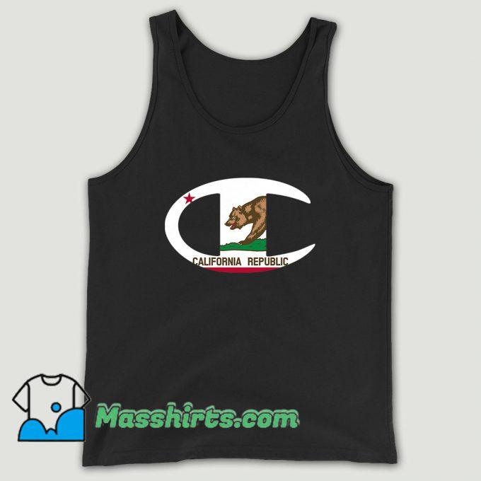 Champion City Pride California Unisex Tank Top