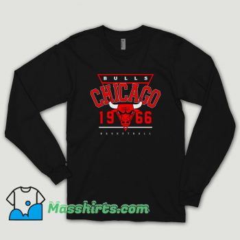 Chicago Bulls 1966 Vintage Long Sleeve Shirt