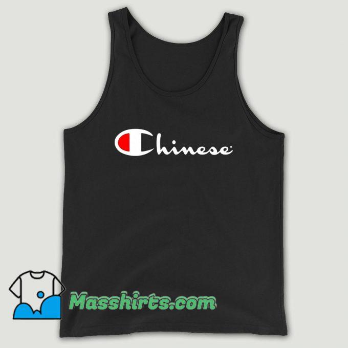 Chinese Champion Unisex Tank Top