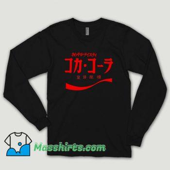 Coca Cola Japanese Long Sleeve Shirt