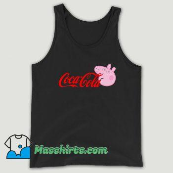 Coke Peppa Pig Parody Unisex Tank Top