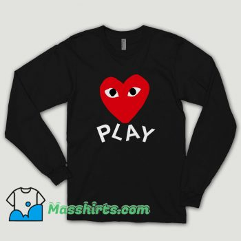 Comme Des Garcons Play Long Sleeve Shirt