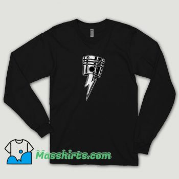 Cool Lightning Bolt Piston Long Sleeve Shirt