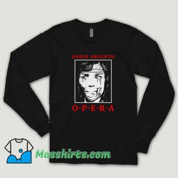 Dario Argento Suspiria Opera Long Sleeve Shirt