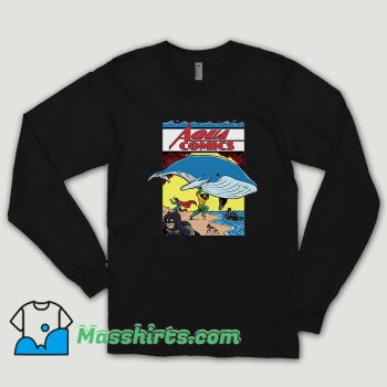 Dc Comic Aquaman Comics Long Sleeve Shirt