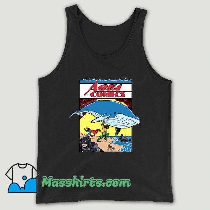 Dc Comic Aquaman Comics Unisex Tank Top