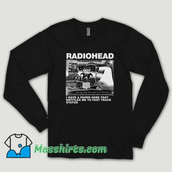 Dead Children Playing Radiohead Long Sleeve Shirt