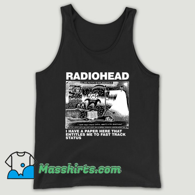 Dead Children Playing Radiohead Unisex Tank Top