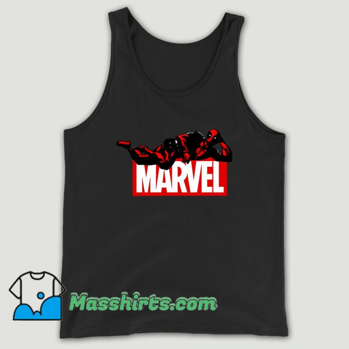 Deadpool Marvel Logo Unisex Tank Top