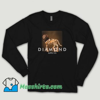 Diamond Supply Geo Lion Long Sleeve Shirt