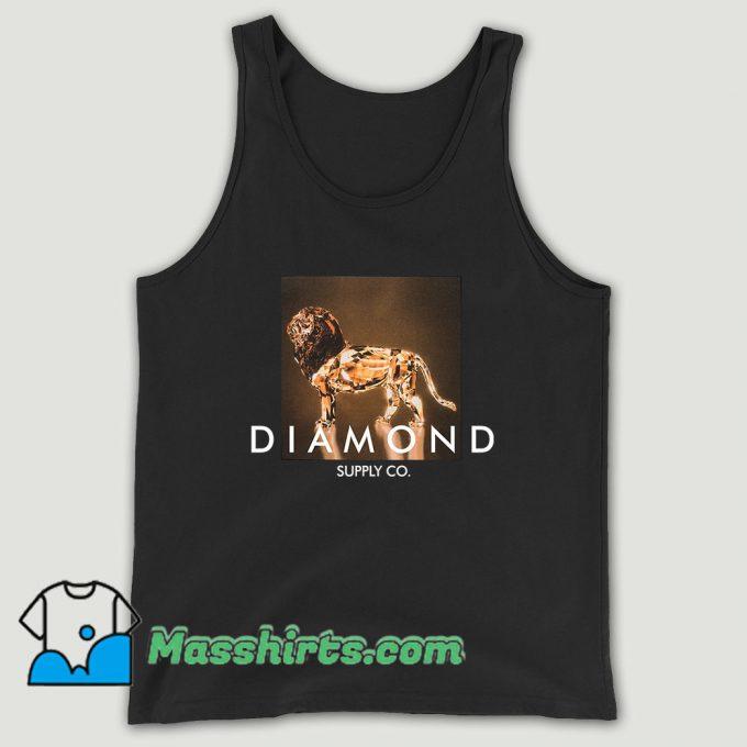 Diamond Supply Geo Lion Unisex Tank Top