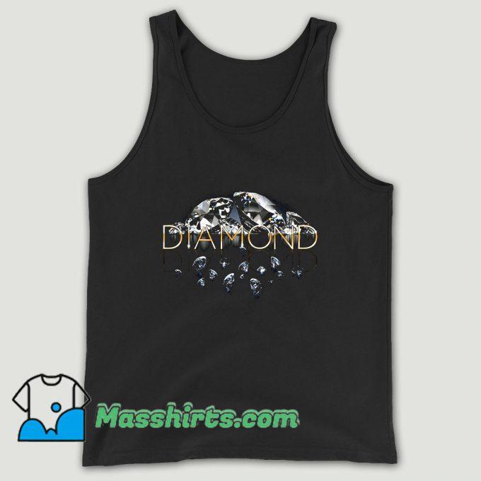 Diamond Supply Mirrored Unisex Tank Top