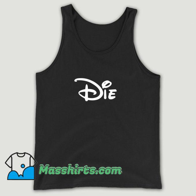 Die Disney Unisex Tank Top