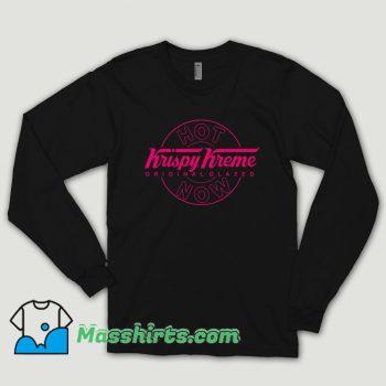 Diy Tee Krispy Kreme Donut Glazed Long Sleeve Shirt
