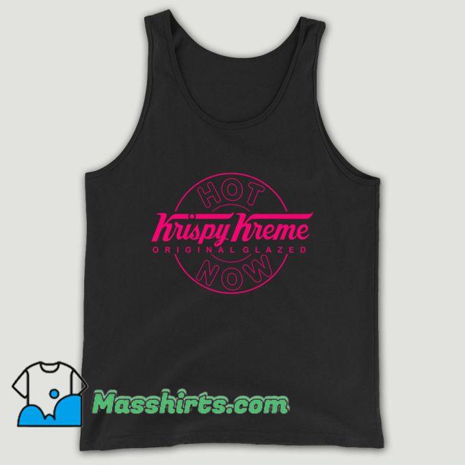 Diy Tee Krispy Kreme Donut Glazed Unisex Tank Top