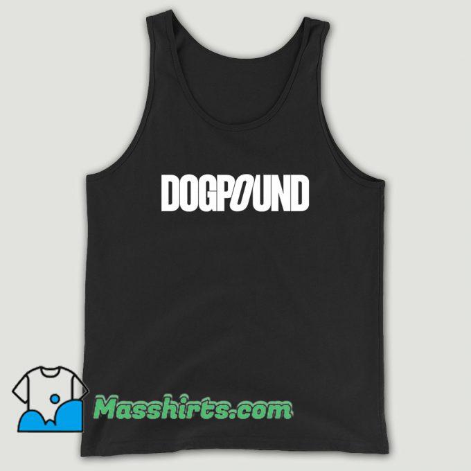 Dogpound Quote Unisex Tank Top
