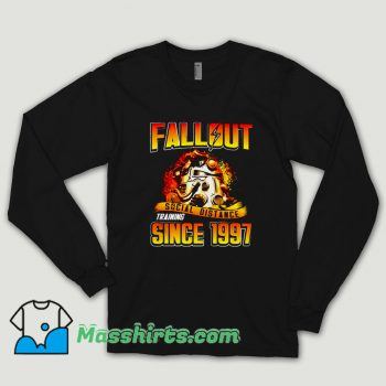 Fallout Social Distance Training Since 1997 Long Sleeve Shirt