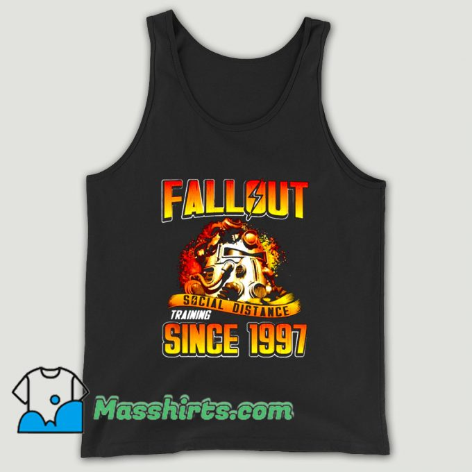 Fallout Social Distance Training Since 1997 Unisex Tank Top