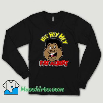 Fat Albert Face Long Sleeve Shirt