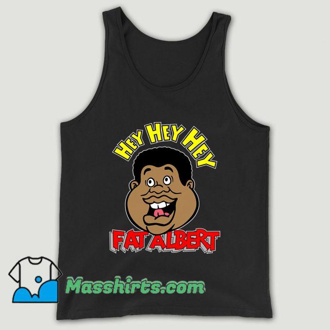 Fat Albert Face Unisex Tank Top