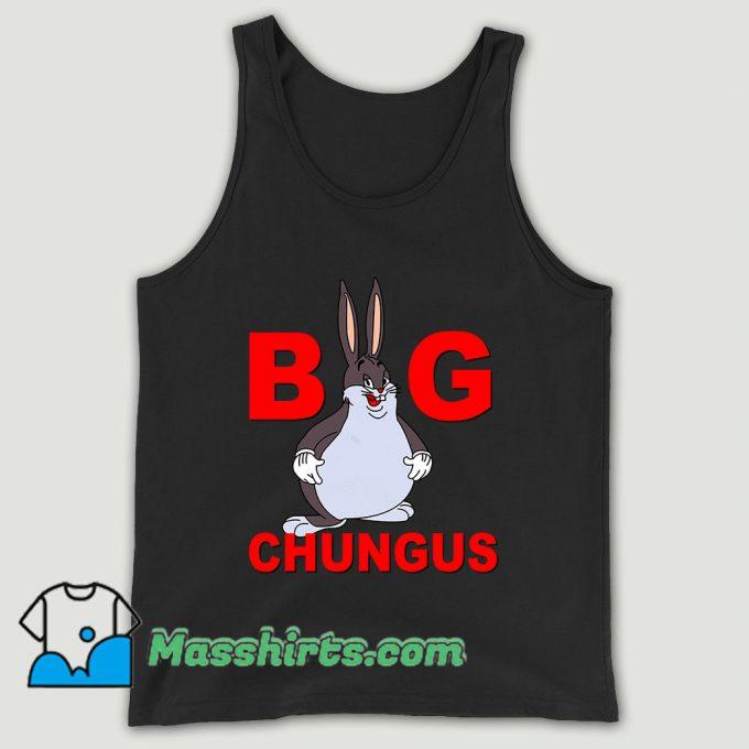 Fat Bunny Big Chungus Unisex Tank Top