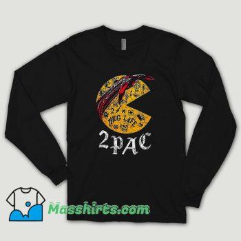 Funny Pacman 2pac Long Sleeve Shirt
