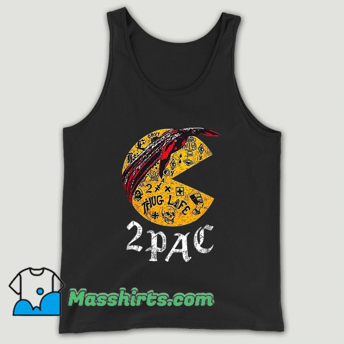 Funny Pacman 2pac Unisex Tank Top