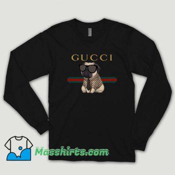 Funny Pug Dog Long Sleeve Shirt