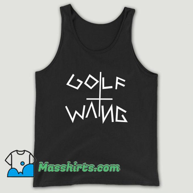 Golf Wang Wolf Gang Odd Future Unisex Tank Top