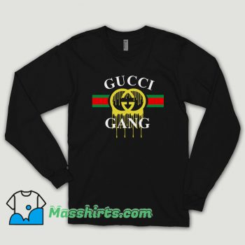 Gucci Gang Dripping Long Sleeve Shirt