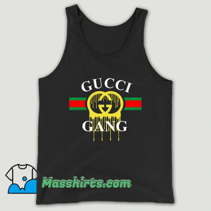 Gucci Gang Dripping Unisex Tank Top