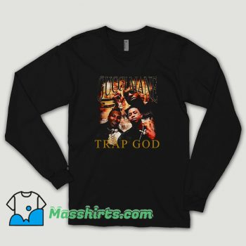 Gucci Mane Trap God Vintage Long Sleeve Shirt