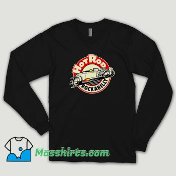 Hotrod Rockabilly Long Sleeve Shirt