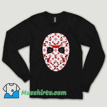 Jason Voorhees Mask Lv Monogram Long Sleeve Shirt