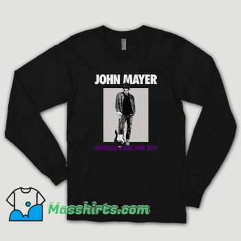 John Mayer Asia Tour 2019 Long Sleeve Shirt