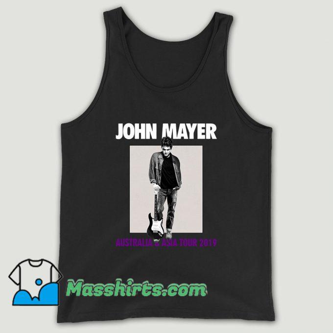 John Mayer Asia Tour 2019 Unisex Tank Top