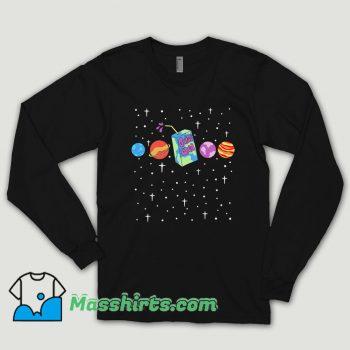 Juice Box Space Galaxy Long Sleeve Shirt