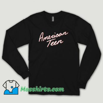 Khalid American Teen Long Sleeve Shirt